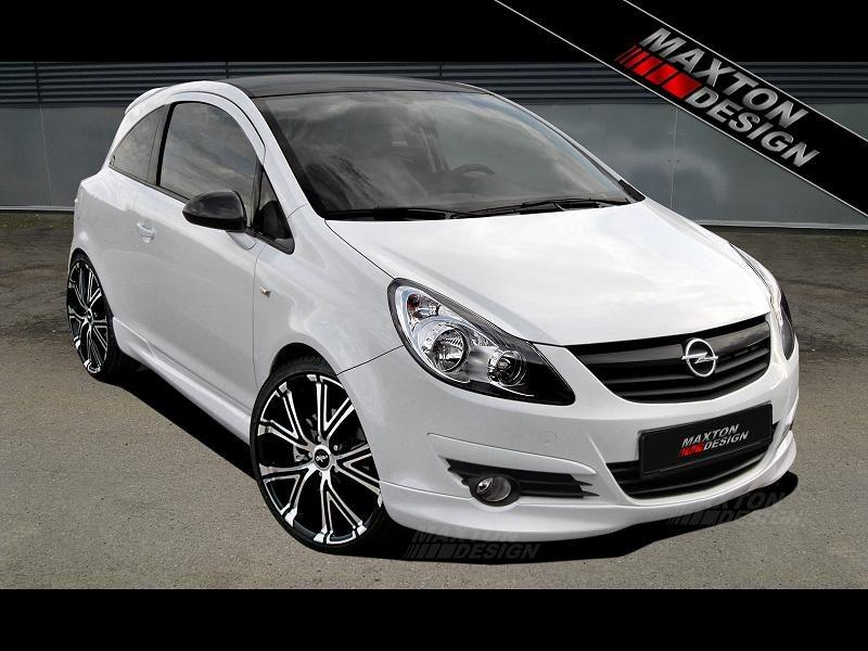 Zderzak Przedni Spoiler Opel Corsa D Przedlift - GRUBYGARAGE - Sklep Tuningowy